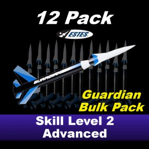 Guardian Model Rocket Kit (12 pk)  - Estes 1779