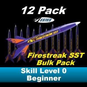 Firestreak SST  Model Rocket Kit (12 pk)  - Estes 1794