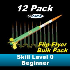 Flip Flyer Model Rocket Kit (12 pk)  - Estes 1796