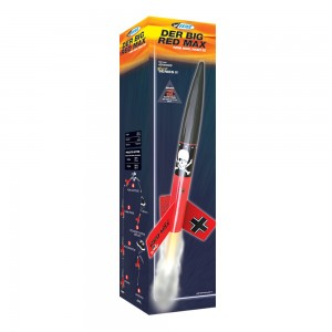 Der Big Red Max Model Rocket Kit  - Estes 9721