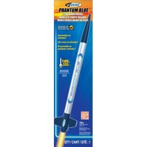 Phantom Blue Model Rocket ARF  - Estes 2483