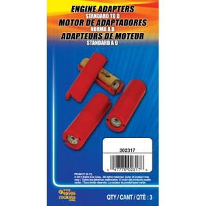 """Standard to """"D"""" Engine Adapter - Estes 2317"""