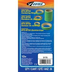 BT5 - BT55 Centering Ring Assortment 26pk- Estes 3175