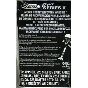 Pro Series Wadding - (39 Sheets)  Estes 3556