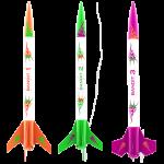 3 Bandits Model Rocket Kit  - Estes 2435