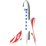 Jetliner Model Rocket Kit  - Estes 3230