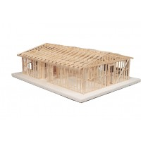 Truss Roof Building Kit #104 - MID551